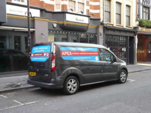 Apex Chimney Sweeps London Van