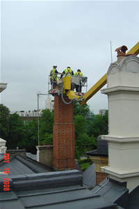 smoke testing chimneys
