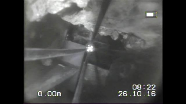 chimney cctv inspection photos
