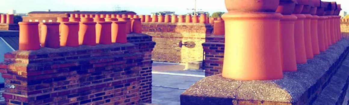 Chimneys on London Roof